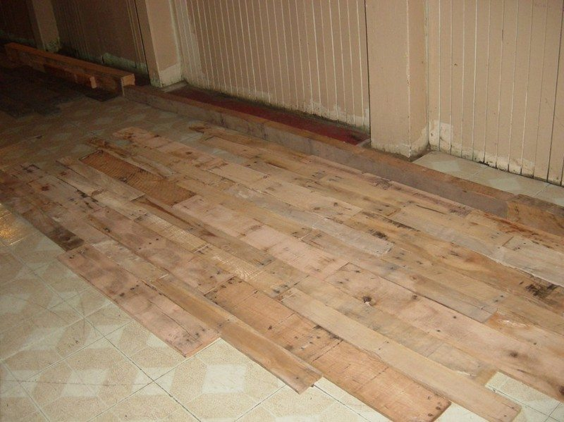 Diy Pallet Flooring The Owner Builder Network