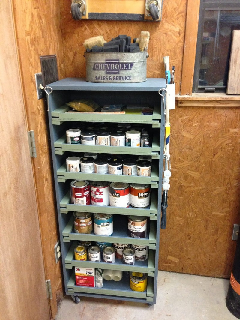 Diy Paint Storage Cabinet The Owner Builder Network
