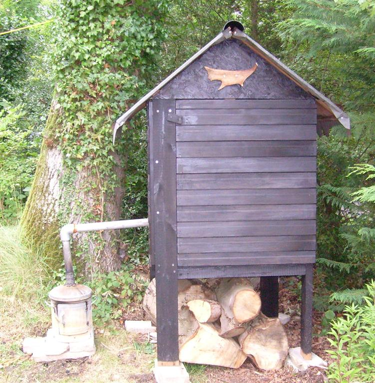 How To Build A Cedar Smokehouse The Owner Builder Network