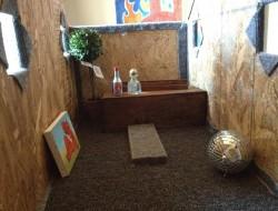 DIY AT AT Cat House - Interior