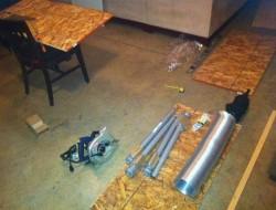 DIY AT AT Cat House - The Materials