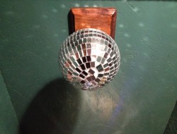 DIY AT AT Cat House - Disco Ball Design