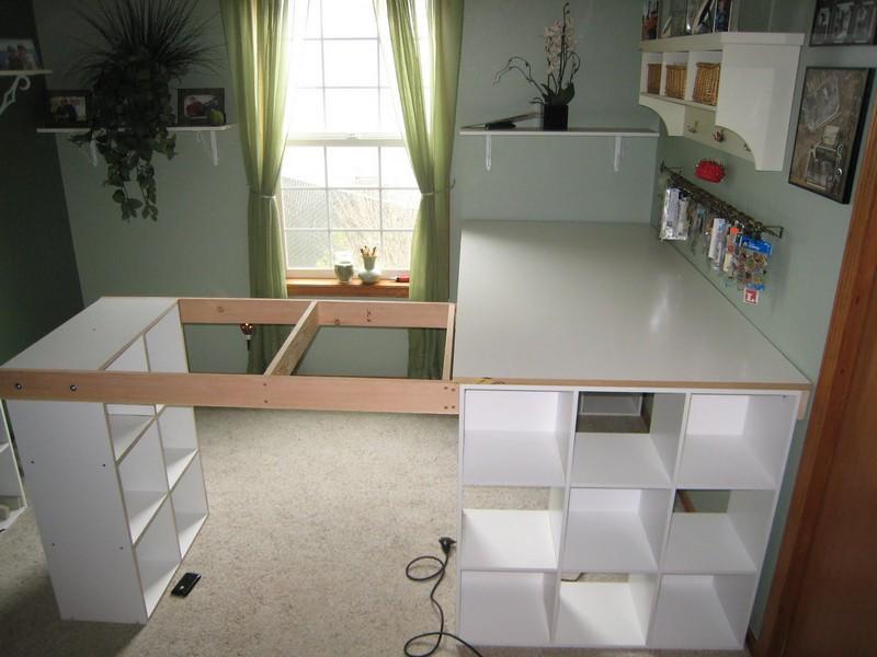 Do It Yourself Home Design: How To Build A Custom Craft Desk
