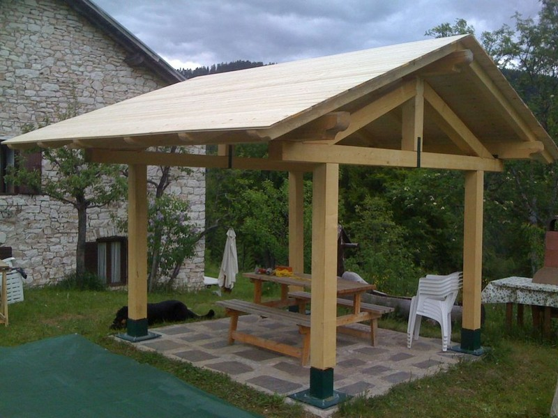 how to build a gazebo roof video