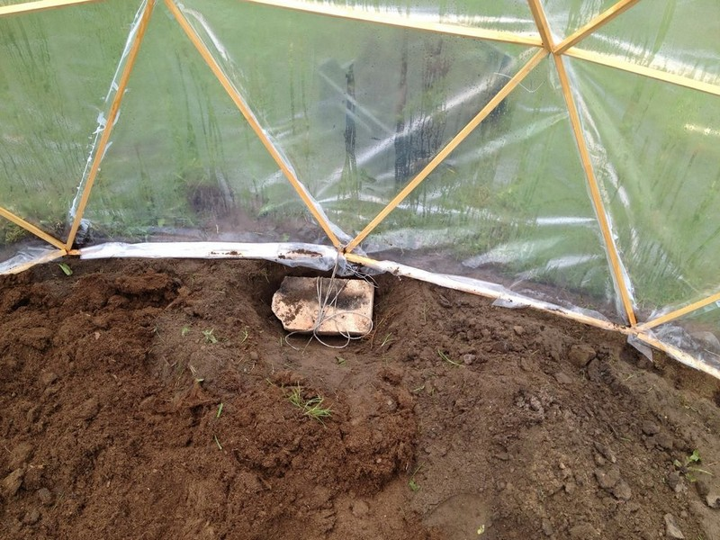 Diy geodesic dome greenhouse the owner builder network