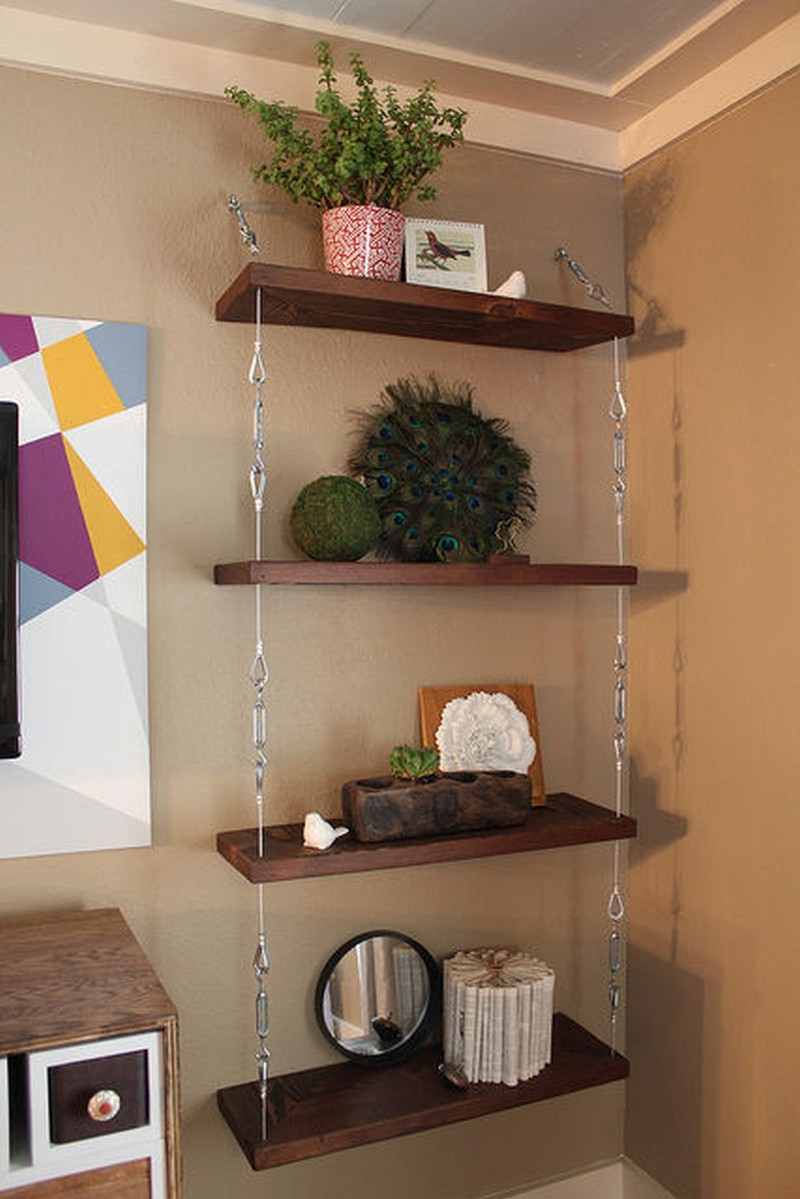 How to build a space-saving hanging shelf | The Owner-Builder Network