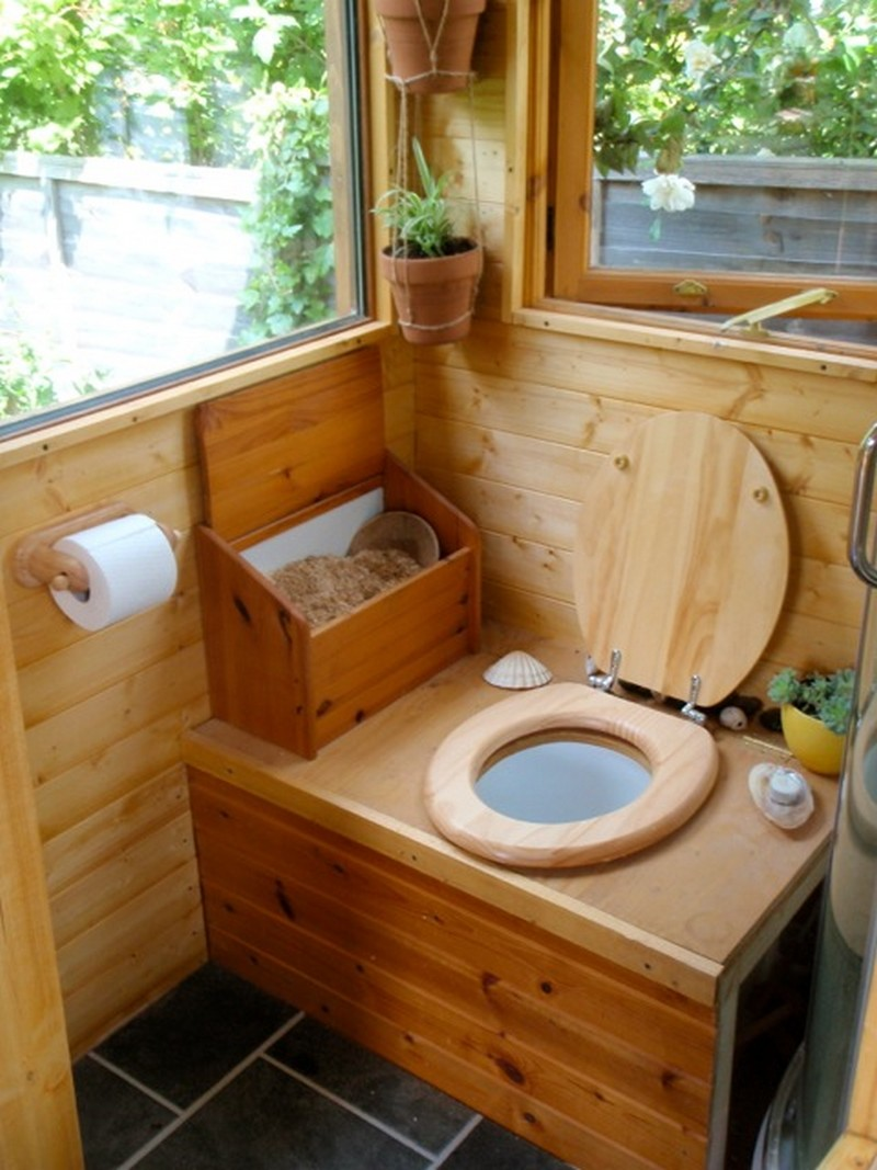 Простой дачный туалет своими руками фото чертежи