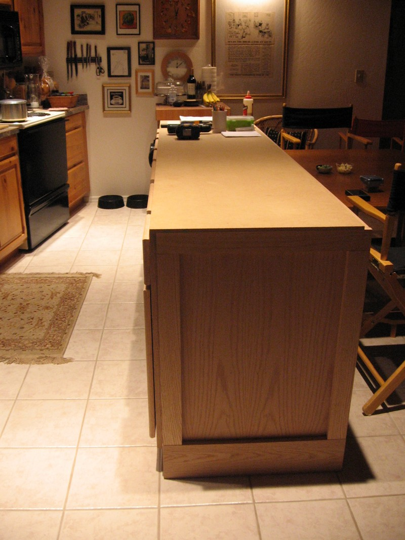 diy kitchen island cabinet the owner builder network