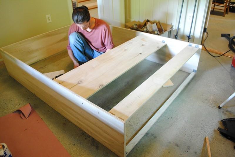 Как своими руками сделать кровать шкаф 63