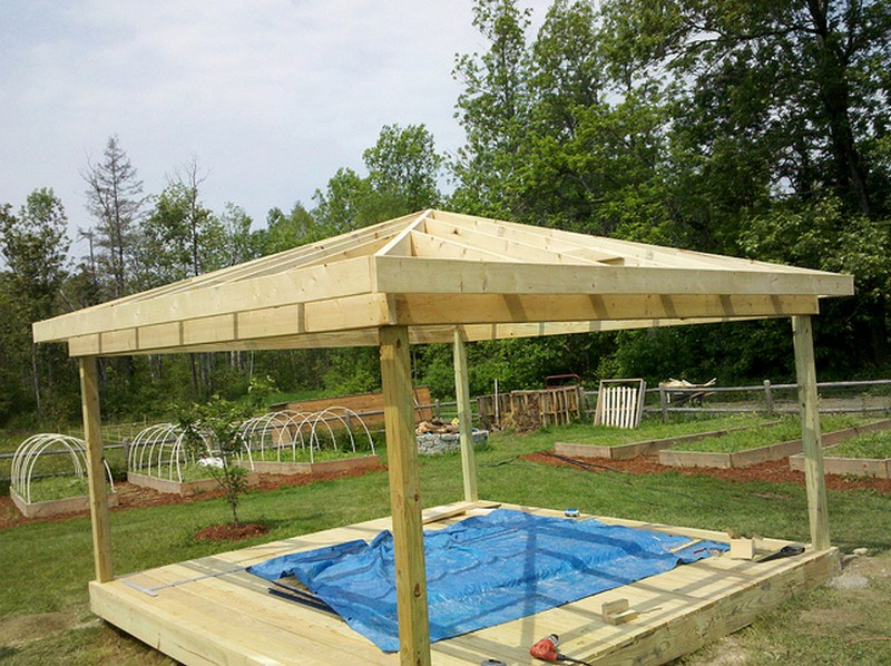Pics for square gazebo roof for How to build a square gazebo