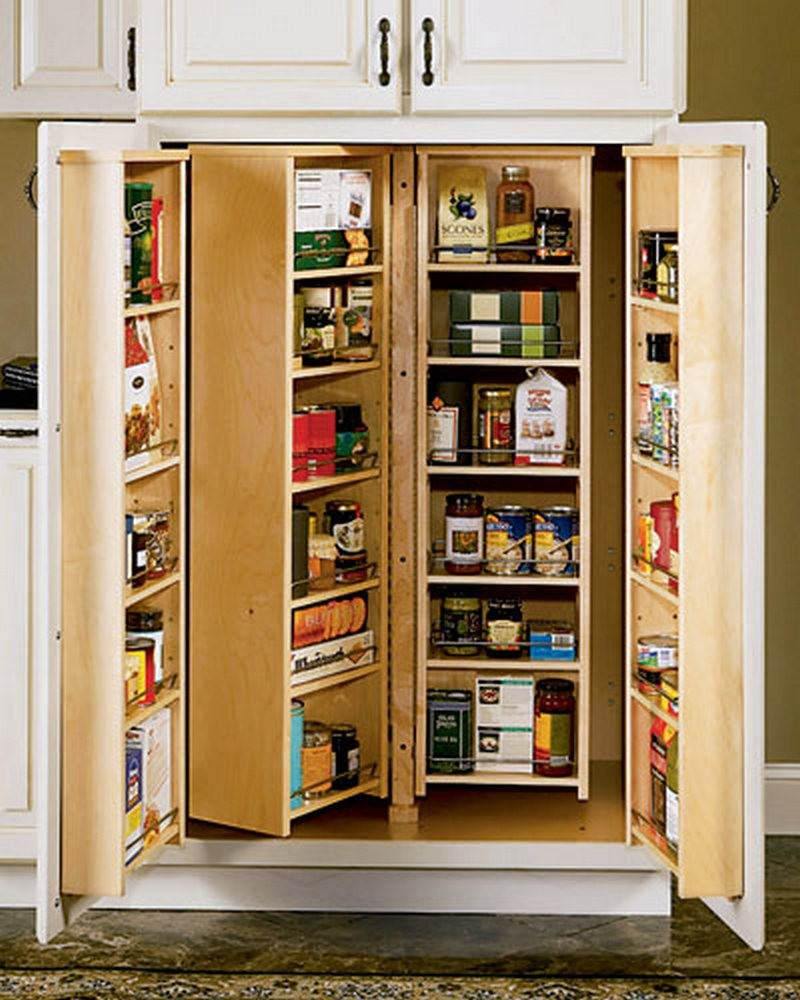Effective Pantry Shelving Designs For Well Organized: The Owner-Builder Network