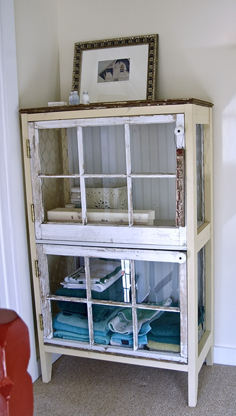 Repurposed window ideas the owner builder network for Where to recycle old windows