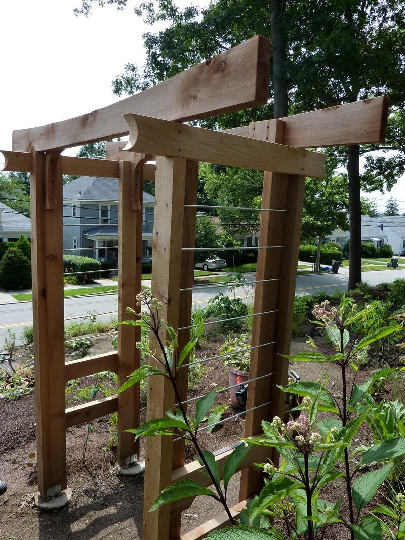 Diy Arbor Trellis The Owner Builder Network