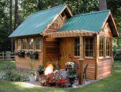 Garden Shed - Tiny House Swoon