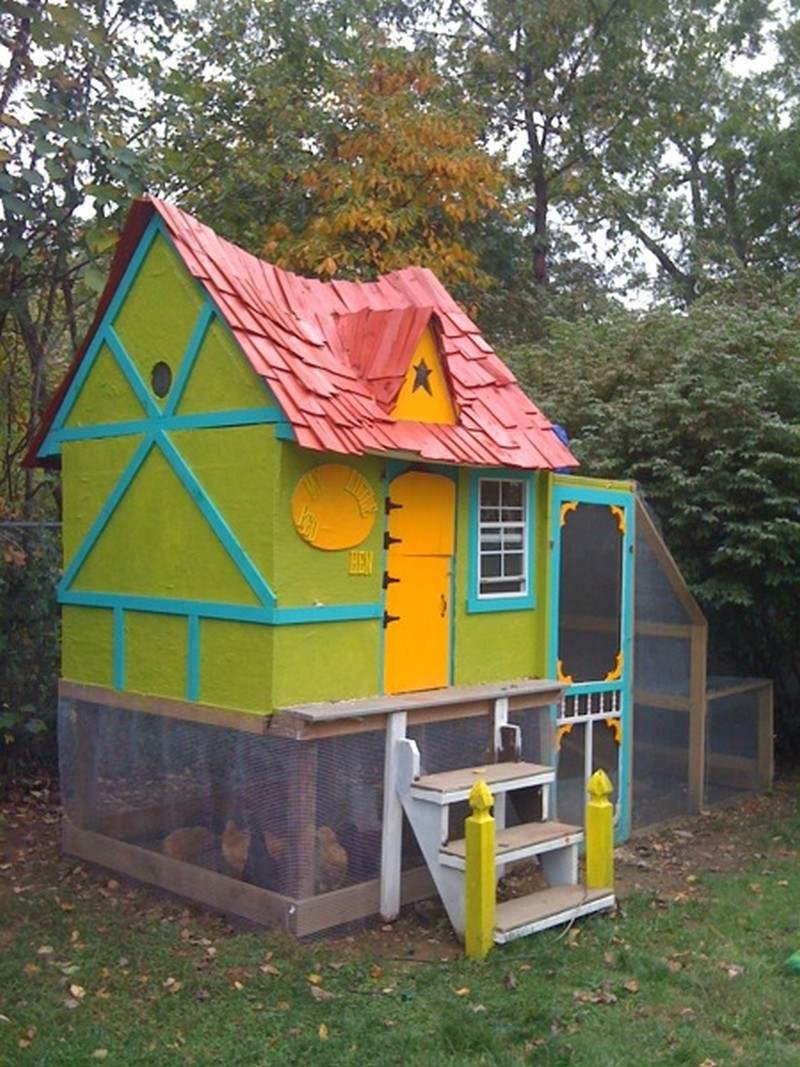 DIY Chicken Coop - The Owner-Builder Network