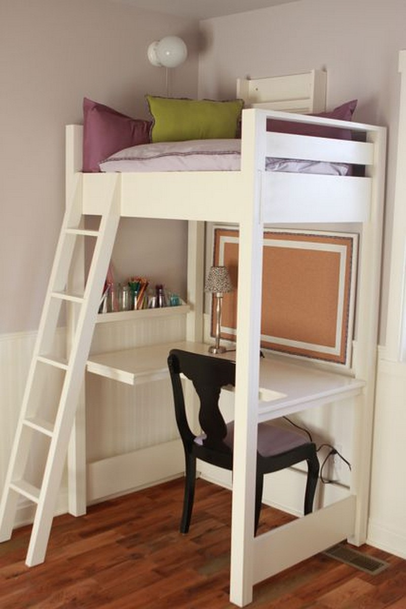 Loft Beds With Desks The Owner Builder Network