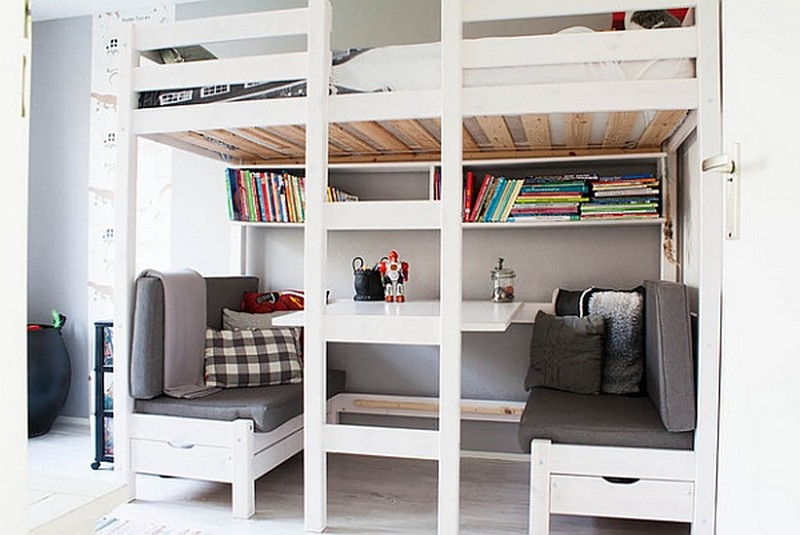 Loft Beds With Desks | The Owner-Builder Network