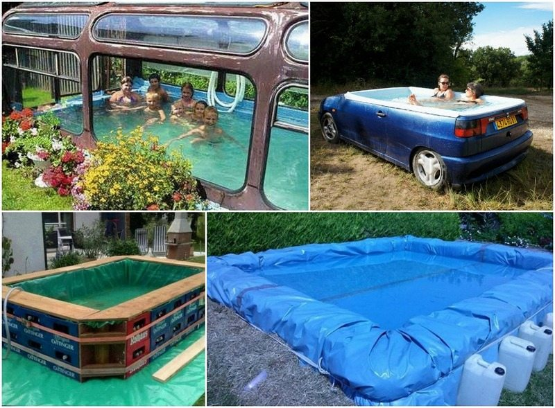 Makeshift swimming pools the owner builder network - Design your own swimming pool ...
