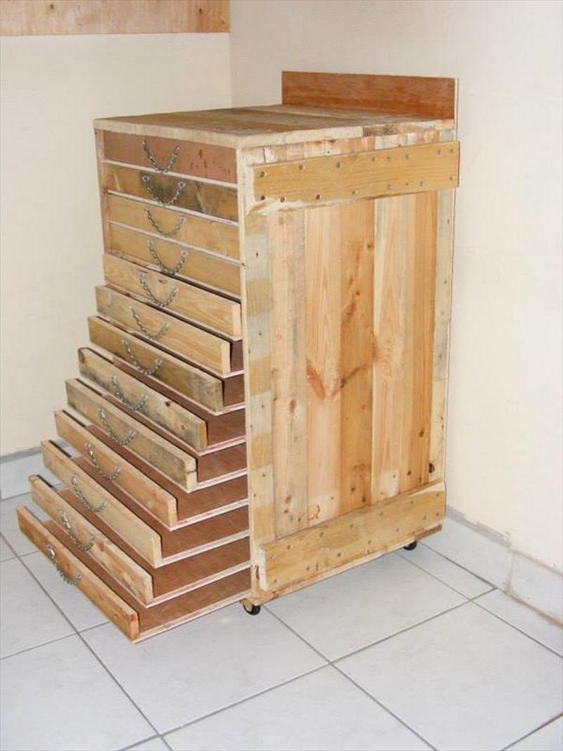 Pallet Tools Storage Cabinet