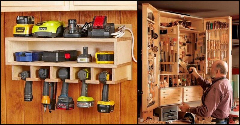 Tool Storage Ideas