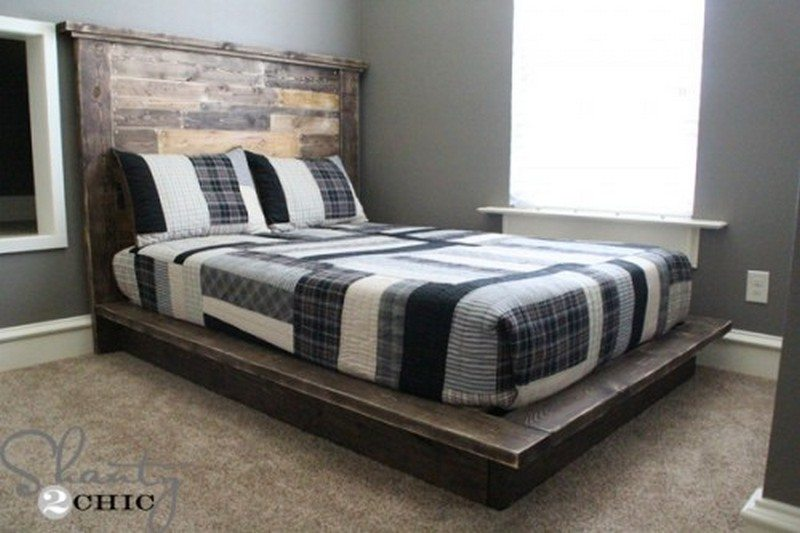 Easy Do-It-Yourself Platform Bed | The Owner-Builder Network