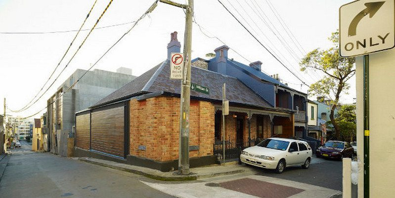 Wells Street Redfern - a warehouse, three terraces and a house are reborn