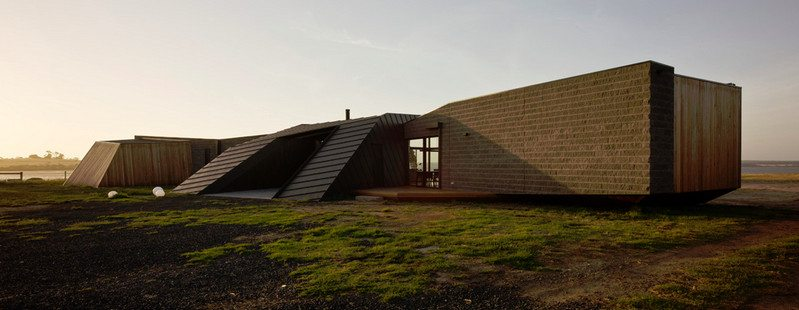 Beached House creates the impression that it has been washed ashore