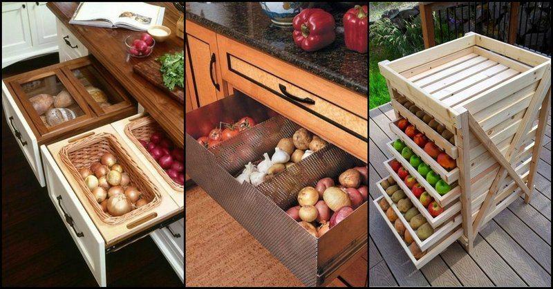 Fresh Ideas For Storing Produce