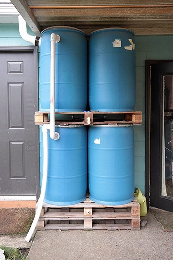 Off grid projects to reduce your energy and water for Making rain barrel system