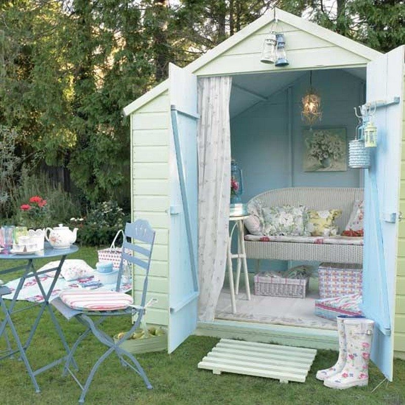 Backyard Retreat Garden Shed