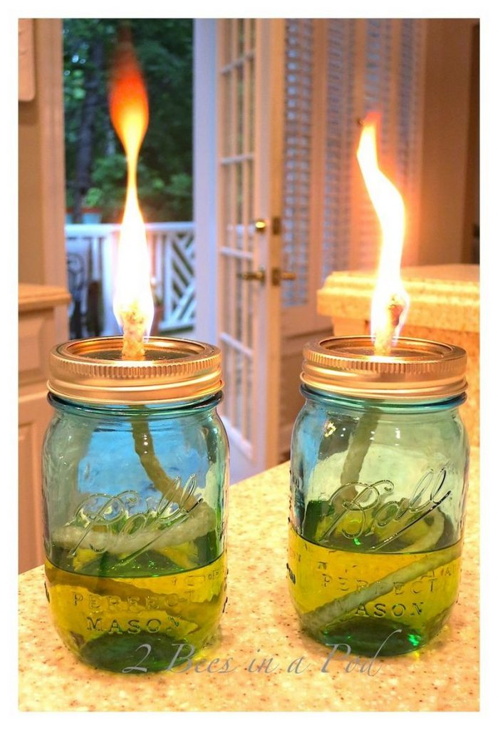 How To Make Your Own Mosquito Repelling Citronella Candles The Owner Builder Network