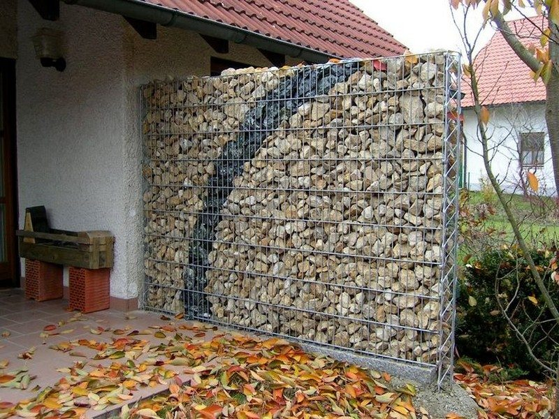 DIY Gabion Rock Walls Without Concrete The Owner
