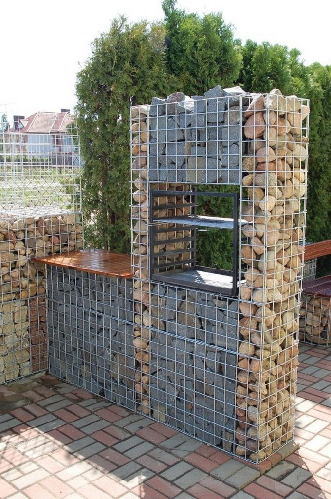 Top gabion design images for pinterest tattoos Gabion wall design