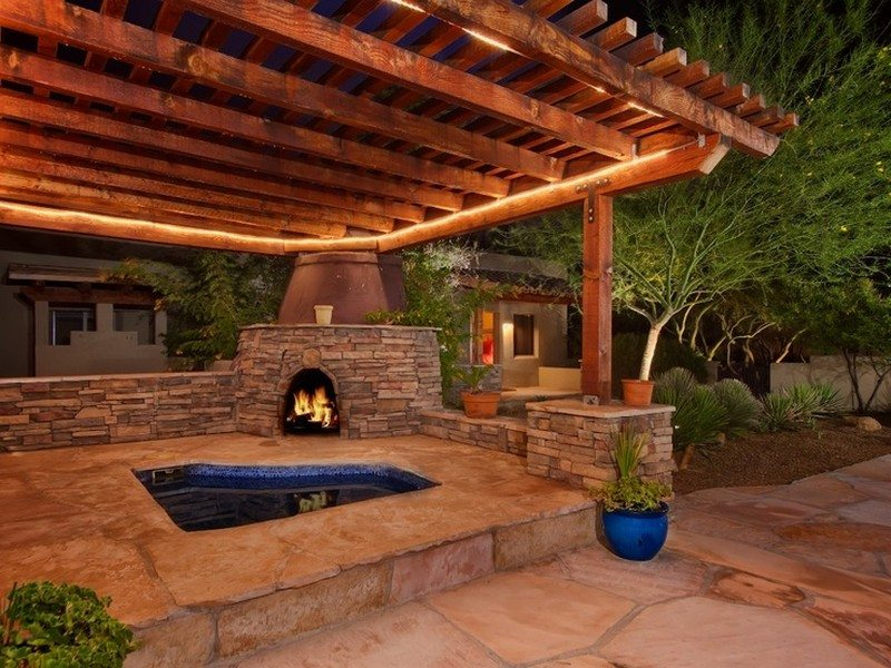 Backyard Hot Tub Designs : Outdoor Hot Tub Ideas for Pinterest