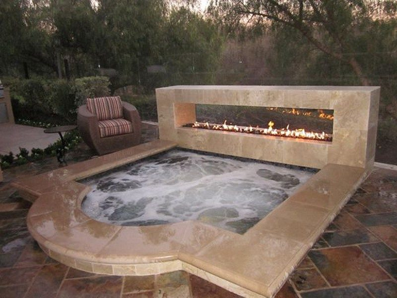 Sizzling outdoor hot tubs that will make you want to plunge right in ...