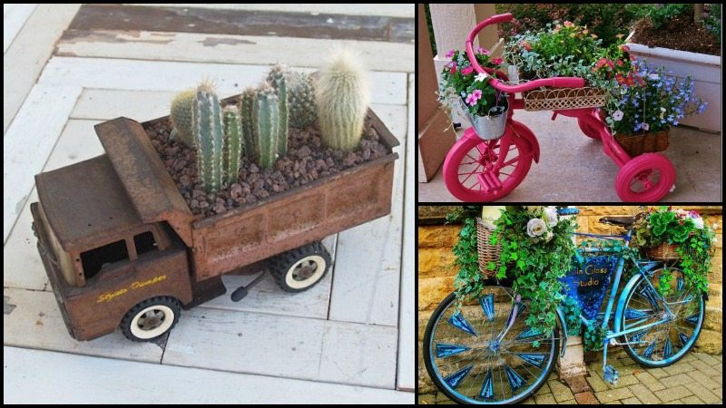 Planter on Wheels