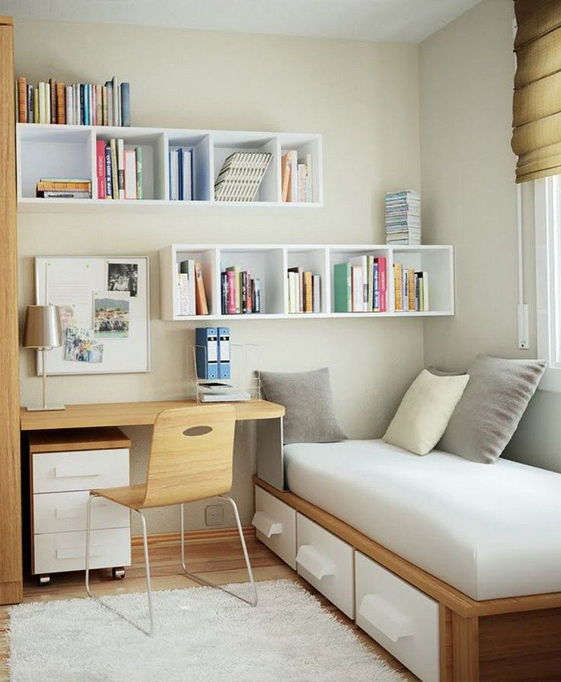 8 ideas for maximizing small bedroom space the owner builder network - Space saving ideas for small rooms gallery ...