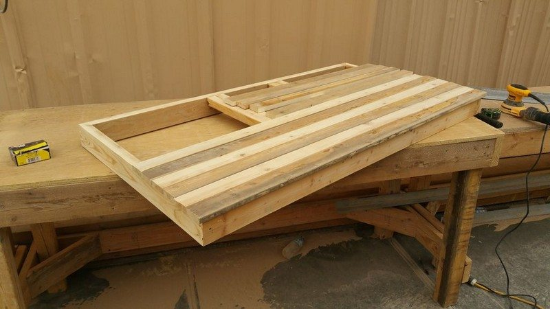 American Flag Pallet Coffee Table The Owner Builder Network