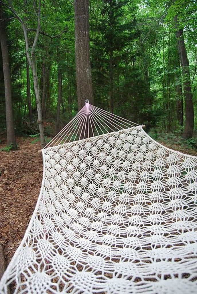 How to make a crocheted hammock the owner builder network - How to make hammock at home ...