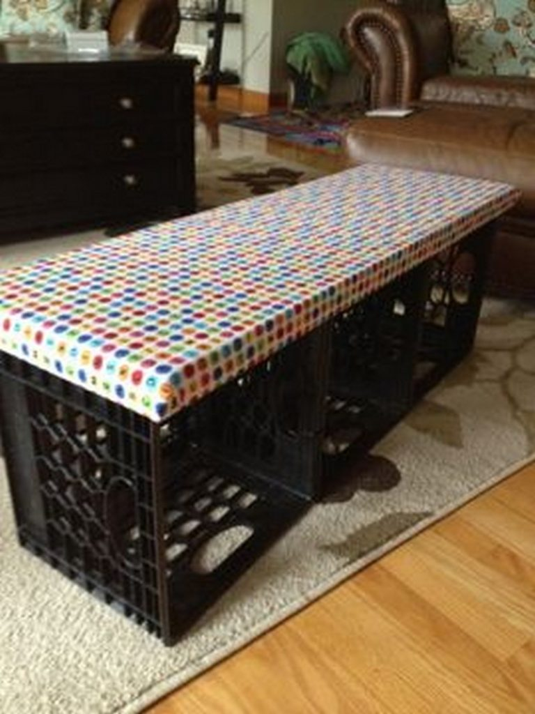 Nine ways to repurpose milk crates | The Owner-Builder Network