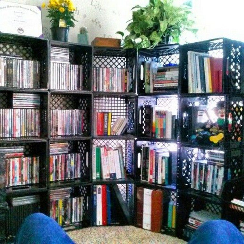 Awesome Milk Crates