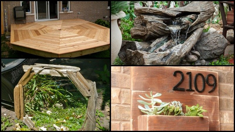 Outdoor Projects Using Wood