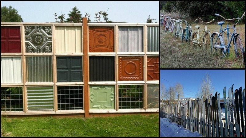 Nine Ingenious Recycled Fence Ideas