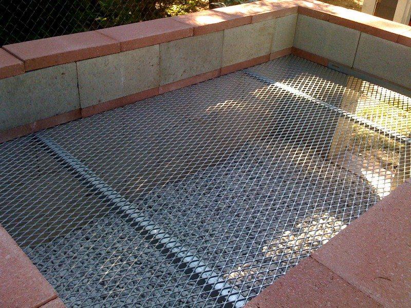 Backyard Cinder Block Smoker : Concrete Block Bbq Pit for Pinterest