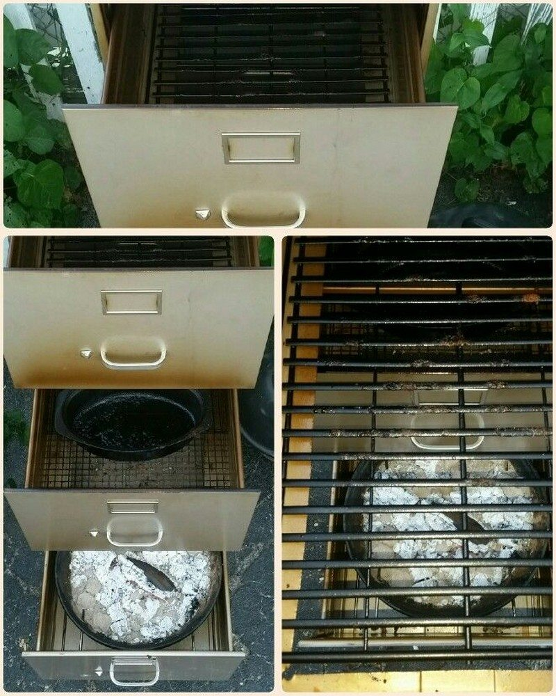 Turn That Old Filing Cabinet Into A Smoker The Owner