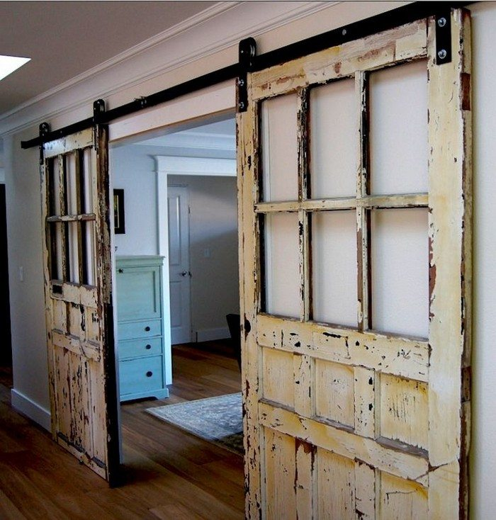 stylish sliding barn door ideas the owner builder network. Black Bedroom Furniture Sets. Home Design Ideas