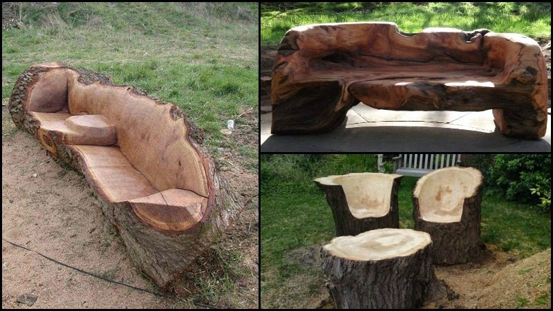 Tree Stump Furniture Main Image