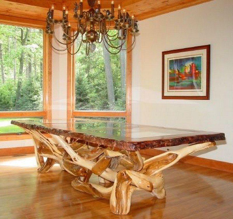 Unusual Dining Table: The Owner-Builder Network