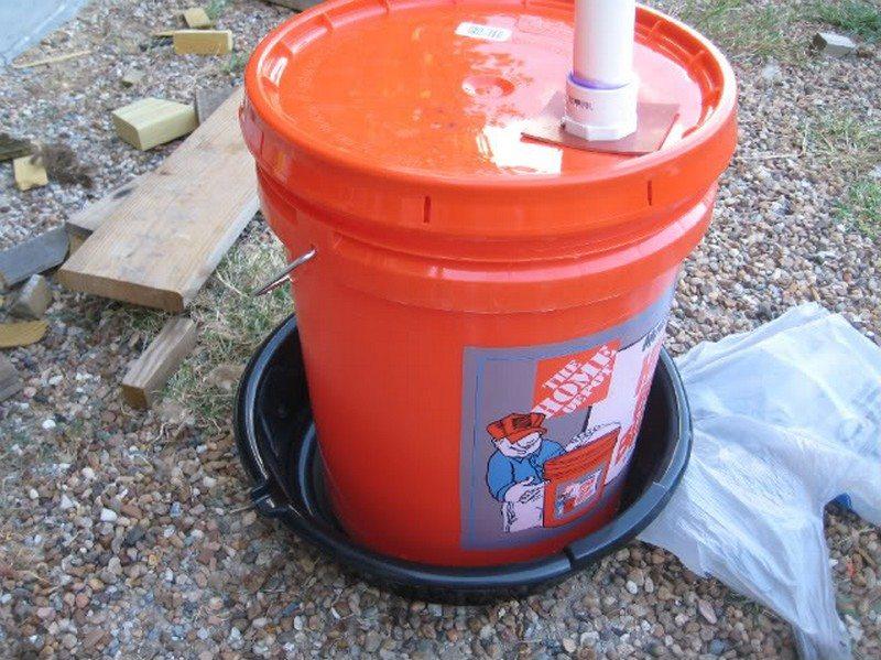 Chicken Water Station Ideas | The Owner-Builder Network