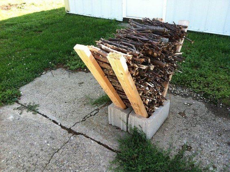 Firewood Storage Ideas  The Owner-Builder Network